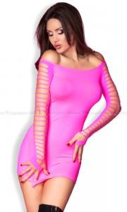 różowe seksowne sukienki